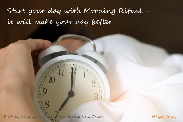 Morning Ritual to empower you